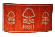 NOTTINGHAM FOREST FC  Style Licensed Flag 5' x 3'