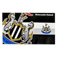 NEWCASTLE UNITED FC HORIZON  Style Licensed Flag 5' x 3'