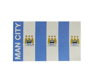 MANCHESTER CITY FC BAR  Style Licensed Flag 5' x 3'