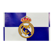 REAL MADRID FC QUADS  Style Licensed Flag 5' x 3'