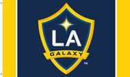 LA GALAXY Premium Fan Flag  5' x 3'