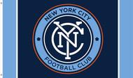 NEW YORK CITY FC Premium Fan Flag 5' x 3'