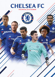 CHELSEA FC Official Team Calendar 2016