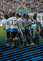 NEWCASTLE  FC Official Team Calendar 2016