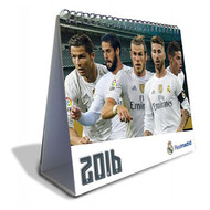 REAL MADRID FC Official Desk Calendar 2016