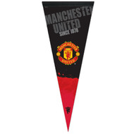 "MANCHESTER UNITED Premium Style Fan Pennant 12""x 30"""