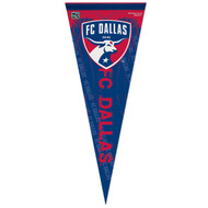 "FC DALLAS 96 Premium Style Fan Pennant 12""x 30"""