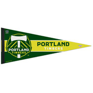 "PORTLAND TIMBERS FC Premium Style Fan Pennant 12""x 30"""
