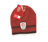 ENGLAND RUGBY Official Maroon Beanie Hat