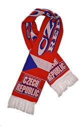 CZECH REPUBLIC Authentic Fan Scarf