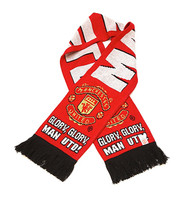 MANCHESTER UNITED FC Licensed Glory/ Glory Scarf