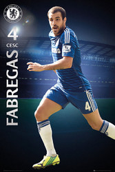 CHELSEA FC   Official Fabregas Poster 14/15-#142
