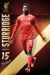 LIVERPOOL FC Official Sturridge  Poster 14/15-#155