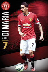 MANCHESTER UNITED FC Official Di Maria Poster 14/15-#168