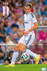 REAL MADRID FC Official Bale Poster 14/15-#835