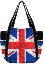 Robin Ruth Ladies Paris Vintage Union Jack Style Bag
