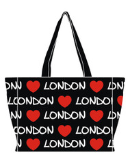 Robin Ruth Ladies Katie Large Red Heart London Style Bag