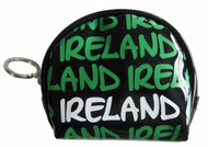 Robin Ruth Licensed Ireland Small Black/Green Jane Coin Purse