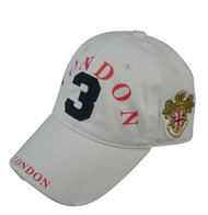 "Robin Ruth Licensed London ""Ralph Cap"" White/ Navy"