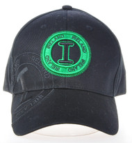 Robin Ruth Licensed Ireland Stamp Cap Black/Green