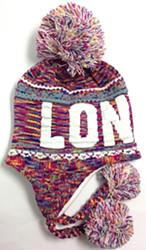 Robin Ruth Licensed London Adult Jasmine Hat  Rainbow/White