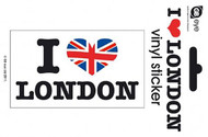 "LONDON Vinyl Stickers- I ""Heart"" London"