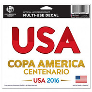 COPA AMERICA 2016 Multi USA/ Centenario  Decal