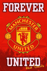 Manchester United FC, Forever United, Red Devils Soccer Poster