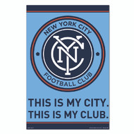 MLS Licensed New York City FC Crest-#60