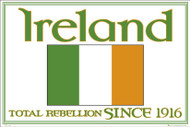 IRELAND CREST Licensed Poster-#510