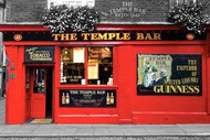 DUBLIN TEMPLE BAR/ Ireland Licensed Poster, #376