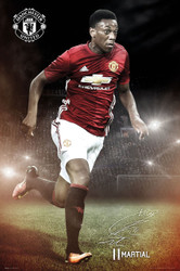 MANCHESTER UNITED MARTIAL Official Soccer Player Poster 2016/17-#387