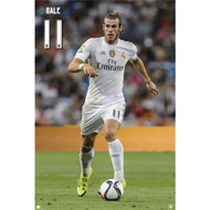 Gareth Bale Real Madrid Action Soccer Player Poster 2015/16 - Buy Online SoccerMadUSA.com