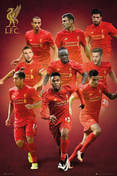 LIVERPOOL PLAYERS MONTAGE Official Soccer Poster 2016/17-#394