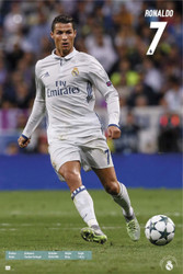 REAL MADRID FC, Ronaldo Action Soccer Player Poster 2016/17-#77