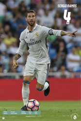 REAL MADRID SERGIO RAMOS official Player Poster  2016/17-#82
