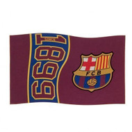 "BARCELONA FC ""Since""  Style Licensed Flag 5' x 3'"