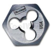 Han 6639 High Carbon Steel Hexagon 1in Across Flat Die 10mm-1.25