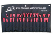 27 Pc. Trim Panel Removal & Scraper Tool Set ATD-85827