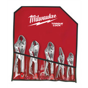 5 Pc.Locking Plier Auto Kit By Milwaukee Electric Tools MLW48-22-3695