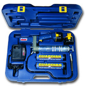 LIN 1244 Cordless Power Luber Grease Gun w/ 2 Battery Kit