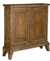 Maquire Mango Wood Console Cabinet