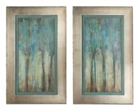 Whispering Wind Framed Wall Art, Set Of 2