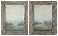 Morning Vistas Framed Wall Art, Set Of 2