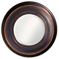 Dublin Round Framed Wall Mirror