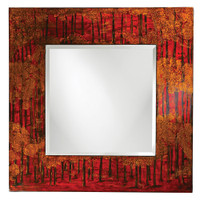 Mia Square Framed Wall Mirror