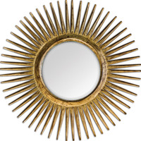 Destello Gold Starburst Mirror