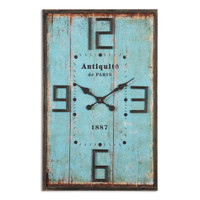 Antiquite Distressed Wall Clock