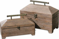 Tadao Natural Wood Boxes, Set/2