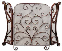 Daymeion Metal Fireplace Screen